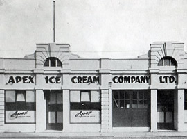 Apex Ice Cream, Christchurch